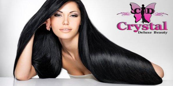 -78% на наращивание волос + 3 услуги бесплатно